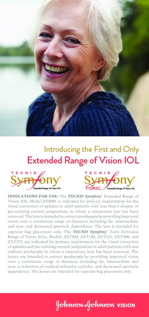 Extended Range of Vision IOL