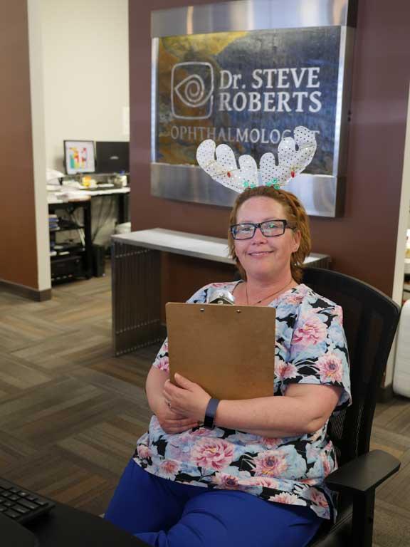 Dr. Roberts staff