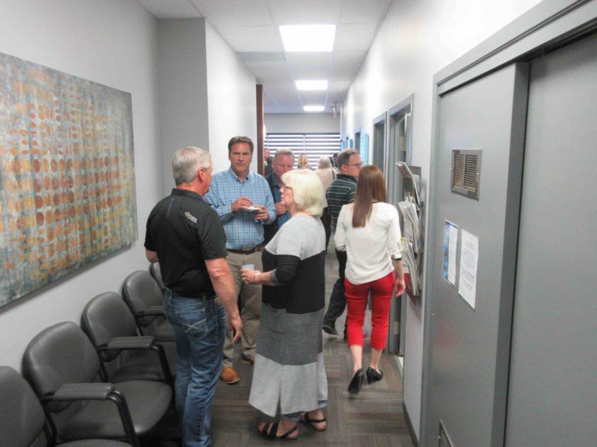 Dr. Steve Roberts office Chamber Mixer