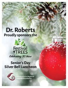Festival of Trees Sponsor